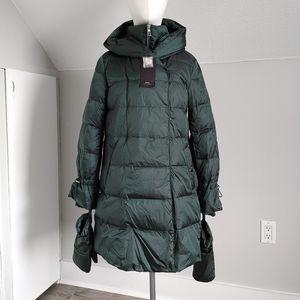 Zara   down filled coat